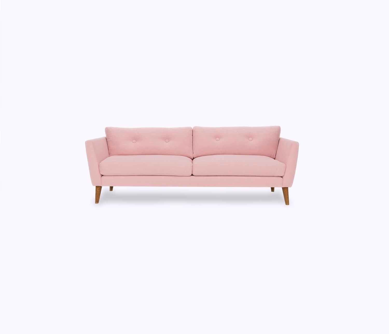 Isolated White Feather sofa